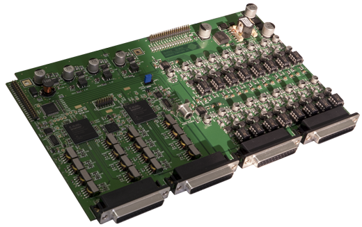 TiMax AES board