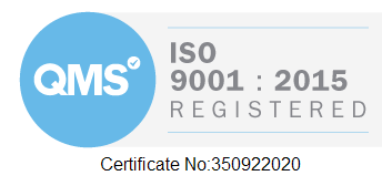 ISO (001 Certificate